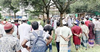 'সম্পত্তির জন্য' মায়ের মরদেহ দাফনে বাধা শিক্ষকের