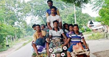 মেহেরপুর-গাংনীতে লোকাল পরিবহনে স্বাস্থ্যবিধি উপেক্ষিত