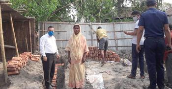 সেই সোনাবি বেগম পাচ্ছেন সরকারি ঘর