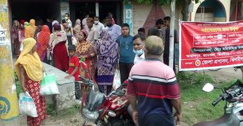 ঝিনাইদহে ওএমএসের চাল-আটা বিক্রিতে অনিয়মের অভিযোগ