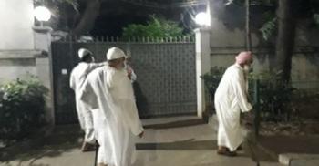 স্বরাষ্ট্রমন্ত্রীর বাসায় হেফাজত নেতাদের বৈঠক