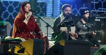 হিনা নাসরুল্লাহর সুফি গানের সুরে ঘোরলাগা এক পরিবেশ