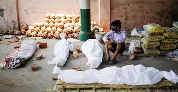 ভারতে করোনায় মৃতদের পরিবারকে ক্ষতিপূরণ দেবে না সরকার