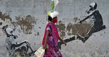 ভারতে তিনদিনে এক লাখ মানুষ করোনায় আক্রান্ত