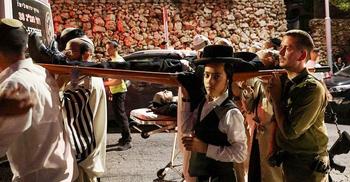 ইহুদি উপাসনালয়ে আসন ভেঙে নিহত ২, আহত শতাধিক