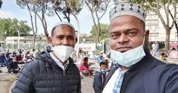 ইতালিতে স্বাস্থ্যবিধি মেনে ঈদের জামাত