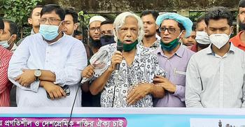 ভারতের বিরুদ্ধে সোচ্চার না হলে বাংলাদেশের মুক্তি নেই : জাফরুল্লাহ