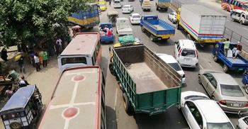 লকডাউনেও ঢাকা-চট্টগ্রাম মহাসড়কে যানজট