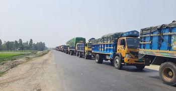 ঢাকা-বগুড়া মহাসড়কে ১৫ কিলোমিটার যানজট