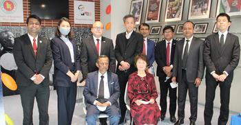 জাপানে বাংলাদেশের রাষ্ট্রদূতের সঙ্গে জাইস প্রেসিডেন্টের সাক্ষাৎ
