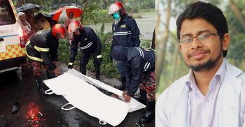 ঝিনাইদহে সড়ক দুর্ঘটনায় মেডিকেল শিক্ষার্থীসহ নিহত দুই