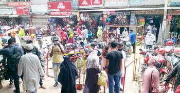 'স্বস্তির জন্য মাস্ক থুতনিতে রাখি, বাকিটা আল্লাহ দেখবেন'