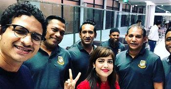 সৌরভ গাঙ্গুলির আমন্ত্রণে অভিষেক টেস্টের ক্রিকেটাররা এখন কলকাতায়