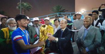 কুয়েতে বাংলাদেশি স্টুডেন্টস ফুটবল টুর্নামেন্টের ফাইনাল অনুষ্ঠিত