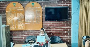 লীনা তাপসী খানের বিরুদ্ধে চৌর্যবৃত্তির অভিযোগ শিল্পী ইফফাত আরার