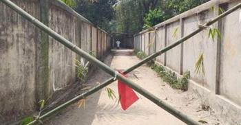 রামগঞ্জে বৃদ্ধের মৃত্যু, ৫টি পরিবার লকডাউন