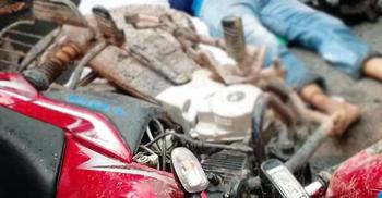 মাদারীপুরে ট্রাকের ধাক্কায় দুই মোটরসাইকেল আরোহী নিহত