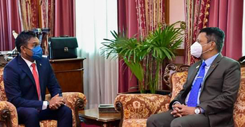 মালদ্বীপের ভাইস প্রেসিডেন্টের সঙ্গে রাষ্ট্রদূতের সাক্ষাৎ