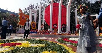 টিএসসি-পলাশী ঘুরে শহীদ মিনারে, তবুও ক্লান্তি নেই