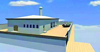 বাংলাদেশিরা নির্মাণ করছে 'আল-আকসা' মসজিদ!