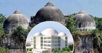 ঢাকায় বাবরি মসজিদের ভিত্তি স্থাপন করলেন আল্লামা শফী