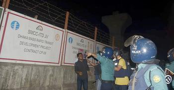 শাহবাগে সংঘর্ষ : ৭ জনকে জেলগেটে জিজ্ঞাসাবাদের নির্দেশ