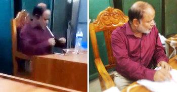 অফিসে বসেই ইয়াবা খান সরকারি কর্মকর্তা