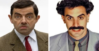 Why Mr Bean, Borat ready to retire