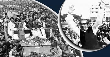 পাকিস্তানে কারাভোগের পর যেভাবে দেশে ফিরলেন বঙ্গবন্ধু