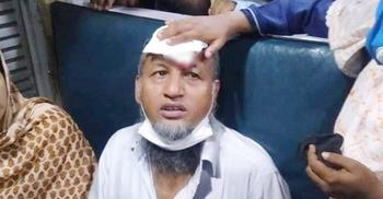 গফরগাঁওয়ে চলন্ত ট্রেনে পাথর নিক্ষেপ, একজন আহত
