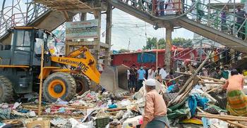 ঢাকা-চট্টগ্রাম মহাসড়কে ৫ শতাধিক অবৈধ স্থাপনা উচ্ছেদ