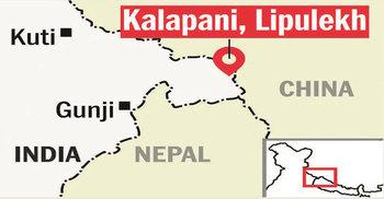 ভারত সীমান্তের ৩ অংশ নিজেদের দাবি করে নেপালি সংসদে মানচিত্র বিল