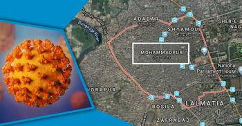 করোনা রোগী শনাক্ত : মোহাম্মদপুরের ৪ রোড লকডাউন
