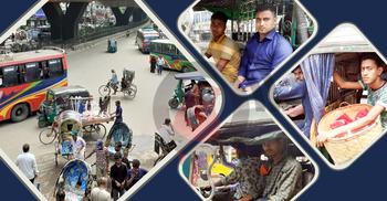 চালক-হেলপারদের ইচ্ছেমতো চলছে চট্টগ্রামের গণপরিবহন