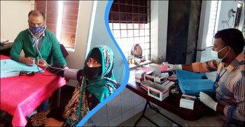 সুরক্ষা সরঞ্জাম ছাড়া করোনা যুদ্ধে নামলেন চিকিৎসক-স্বাস্থ্যকর্মীরা