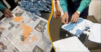 চোরাকারবারিদের নতুন কৌশল 'ব্যাগ'