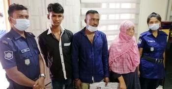 নোয়াখালীতে ছিনতাইকারী দলের ৩ সদস্য আটক