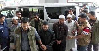 'আনসারুল্লাহ বাংলা টিমের' চার সদস্য গ্রেফতার