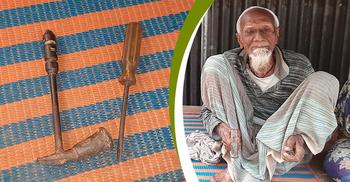 জীবদ্দশায়ই 'ঠাটারি' পেশার বিলুপ্তি দেখলেন ইয়াদ আলী