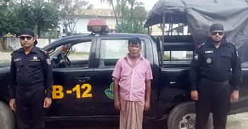 ভুট্টাবোঝাই ট্রাকে মিলল ১০৯ কেজি গাঁজা