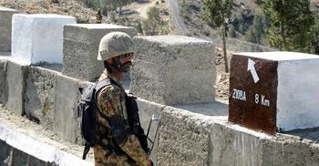 আফগানিস্তান থেকে গুলি, পাকিস্তানে চার সেনা নিহত