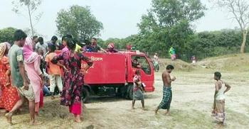 তেঁতুলিয়ায় পাথর কোয়ারীর বালিচাপায় প্রাণ গেল শ্রমিকের