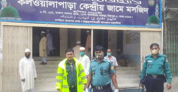 'করোনা প্রতিরোধ প্লাটুন' গঠন করলো মিরপুর থানা