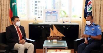 মালদ্বীপের পুলিশ কমিশনারের সঙ্গে রাষ্ট্রদূতের সৌজন্য সাক্ষাৎ