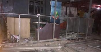 পুলিশ বক্সে বিস্ফোরণ : 'নাশকতা' দেখছে আইনশৃঙ্খলা বাহিনী