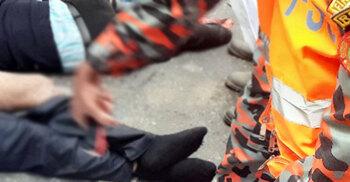 তদন্ত শেষে ফেরার পথে ট্রাকের চাকায় পিষ্ট দুই পুলিশ সদস্য