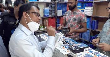 নকল ক্যালকুলেটর বিক্রি : সাত প্রতিষ্ঠানকে ২৭ লাখ টাকা জরিমানা