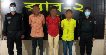 রাজধানীতে কিশোর গ্যাং 'সেজান গ্রুপে'র ৯ সদস্য আটক