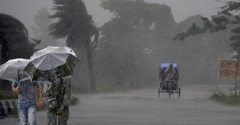 দেশের ১২ অঞ্চলে ঝড়-বৃষ্টি হতে পারে আজ