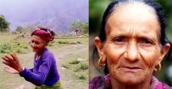 ৭৮ বছর বয়সেও টিকটক স্টার নেপালের কৃষ্ণা কুমারী